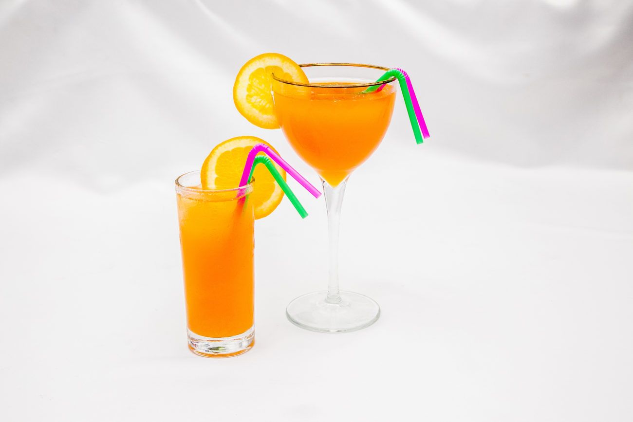 Cocktail punch aux fruits